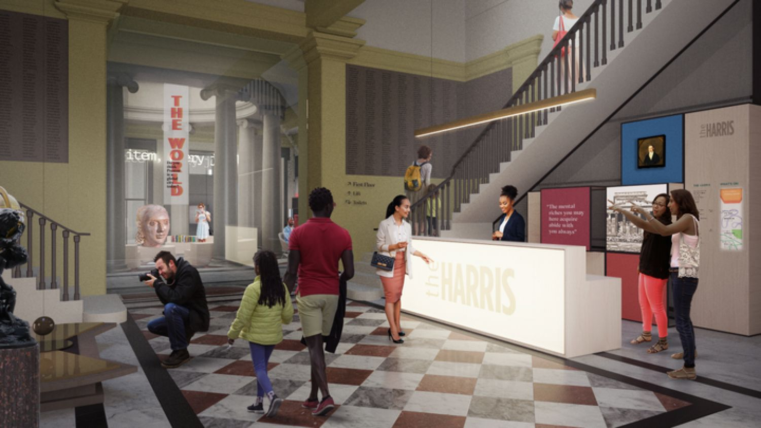 Proposed Plans To Revitalize The Harris in Preston City Centre