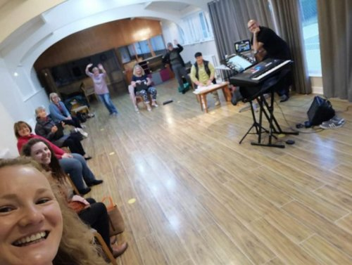 Singing restriction continues