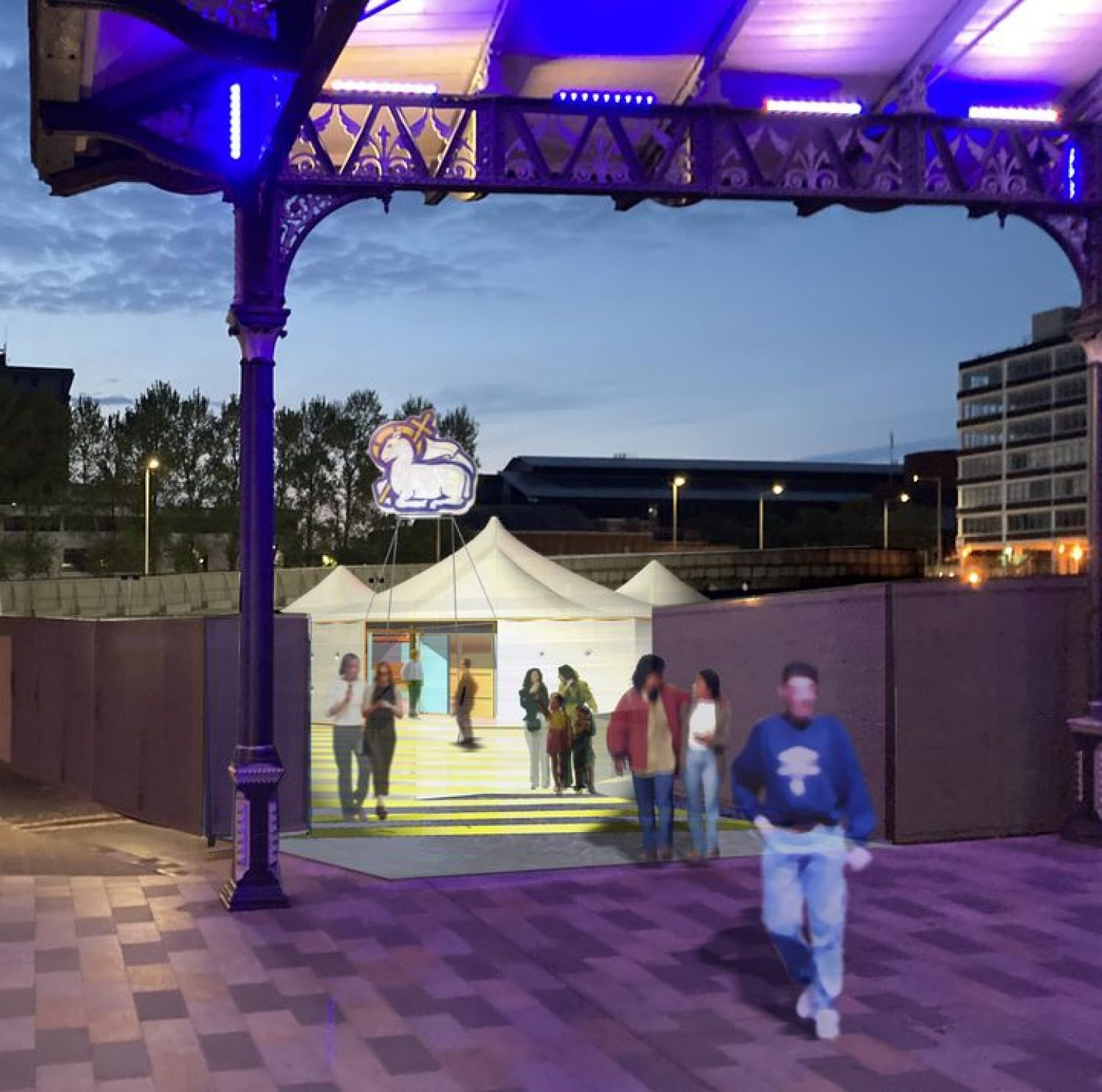 The Mobile Event Tent coming to Preston - July 2021
