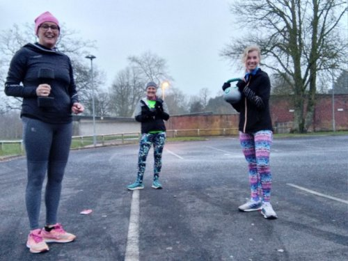Trio take on March spring challenge