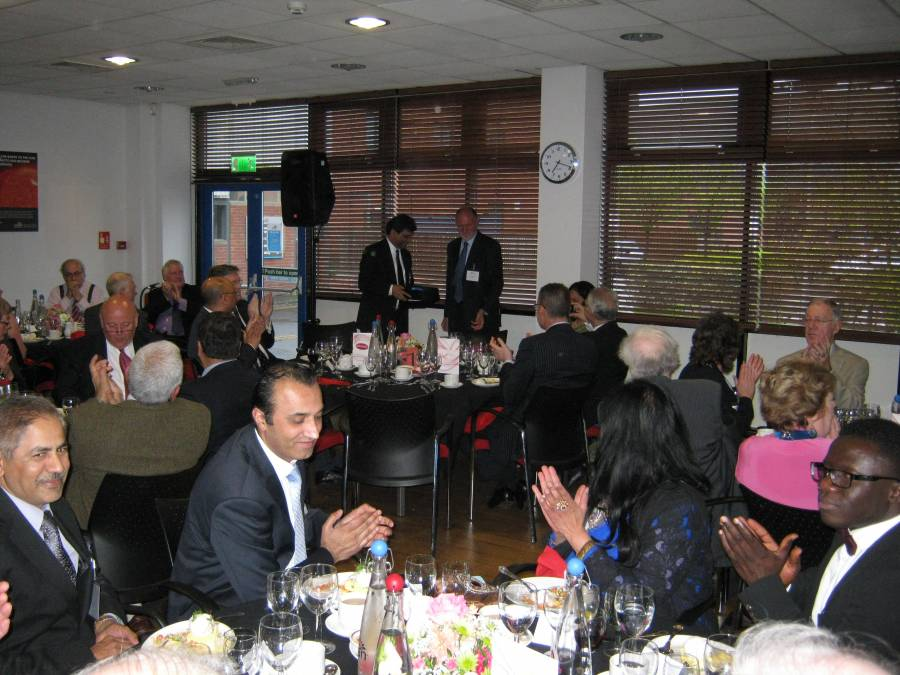 An Evening With The Deputy High Commissioner Of India