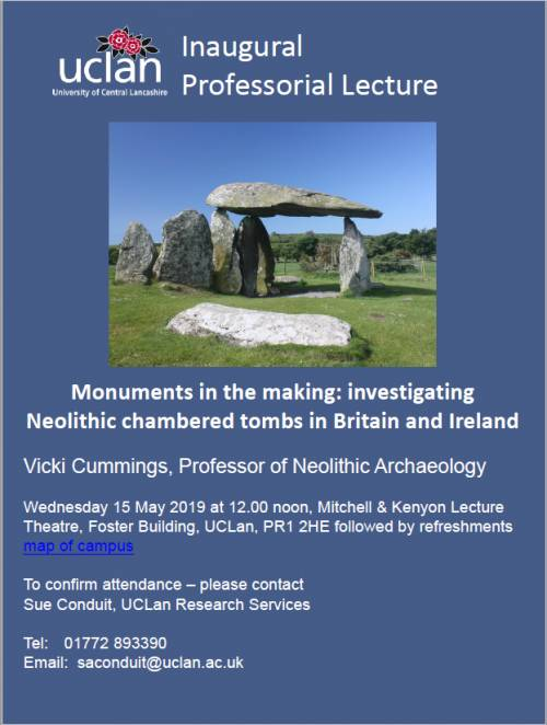 'Monuments In The Making: Investigating Neolithic Chambered Tom