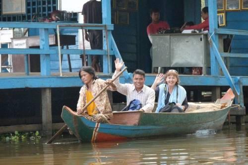 Lynne Barnett\'s Boat Trip