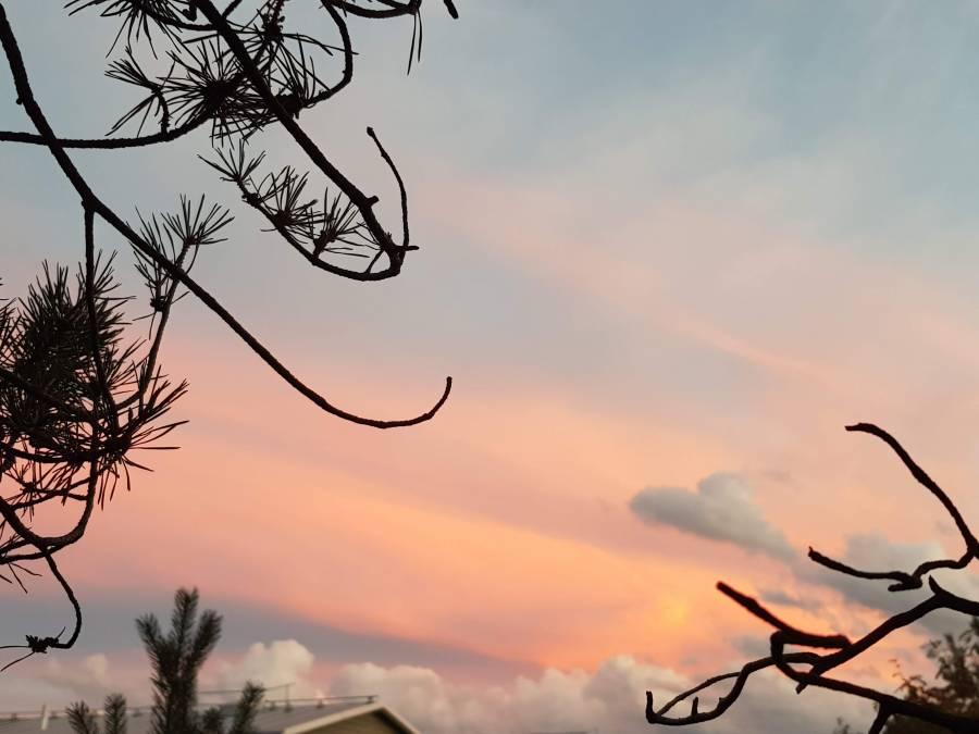 Sunset Over Nacka By Ingemar Pongratz